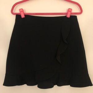 NWOT Alice + Olivia ruffled mini skirt